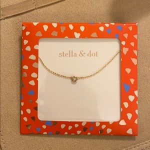 NWT Stella & Dot Wishing Necklace